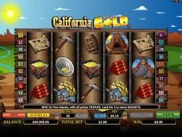 Automat California Gold zdarma