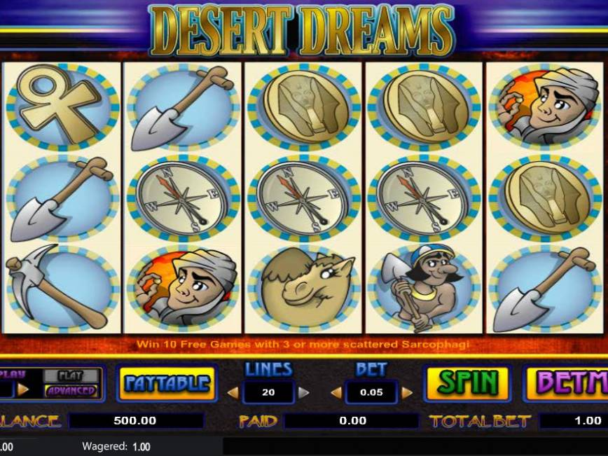 Casino hrací automat Desert Dreams