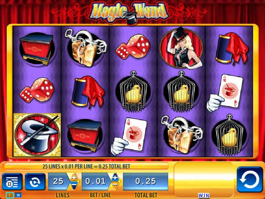 Automat Magic Wand bez registrace online