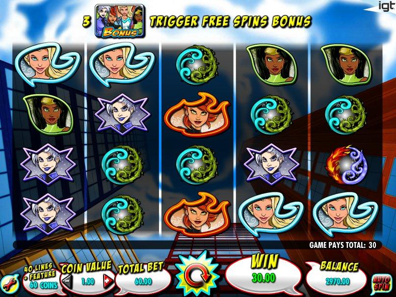 Herní automat Natural Powers online
