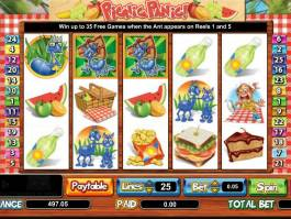 Picnic Panic online automat zdarma