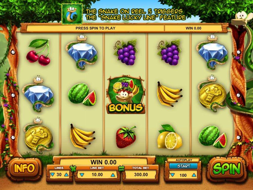 Hrací online automat Snake Slot