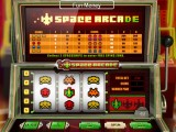 Casino online automat Space Arcade