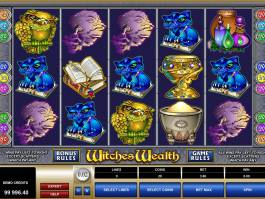 Witches Wealth casino online hra