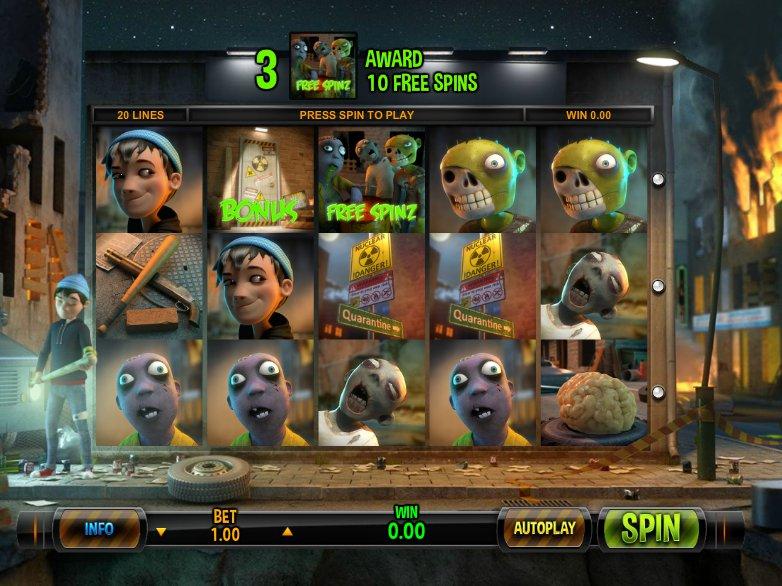 Hrací automat Zombie Rush online