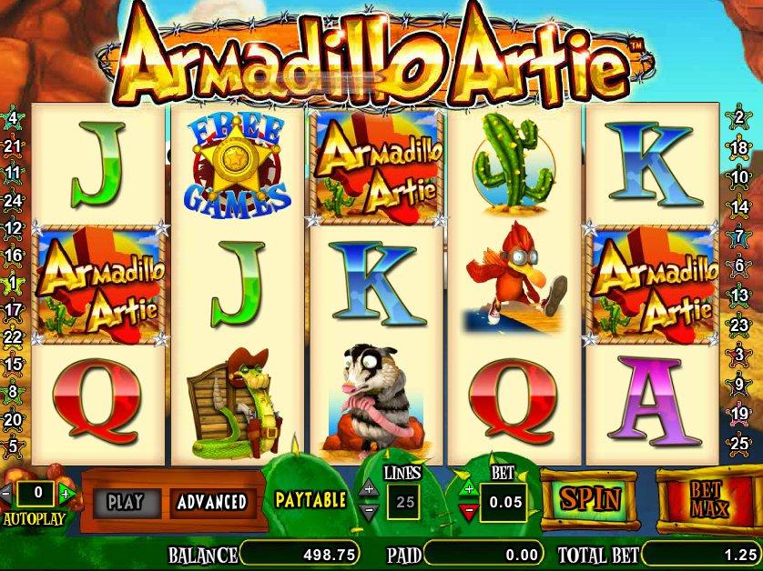 Herní automat Armadillo Atrie zdarma