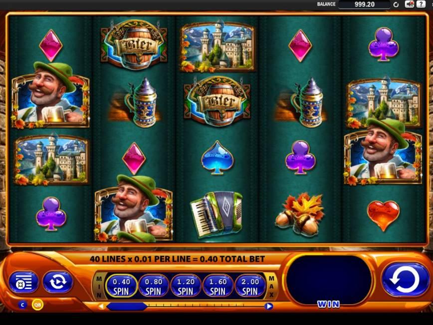 Casino online automat Bier Haus zdarma