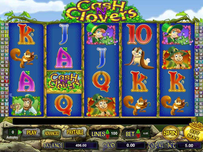 Casino automat zdarma Cash n Clovers