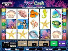 Casino automat zdarma Coral Cash