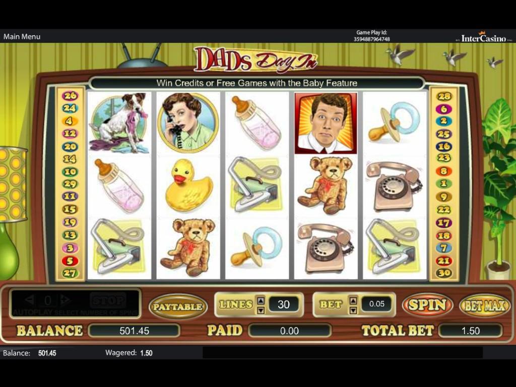 Herní casino automat Dads Day In zdarma