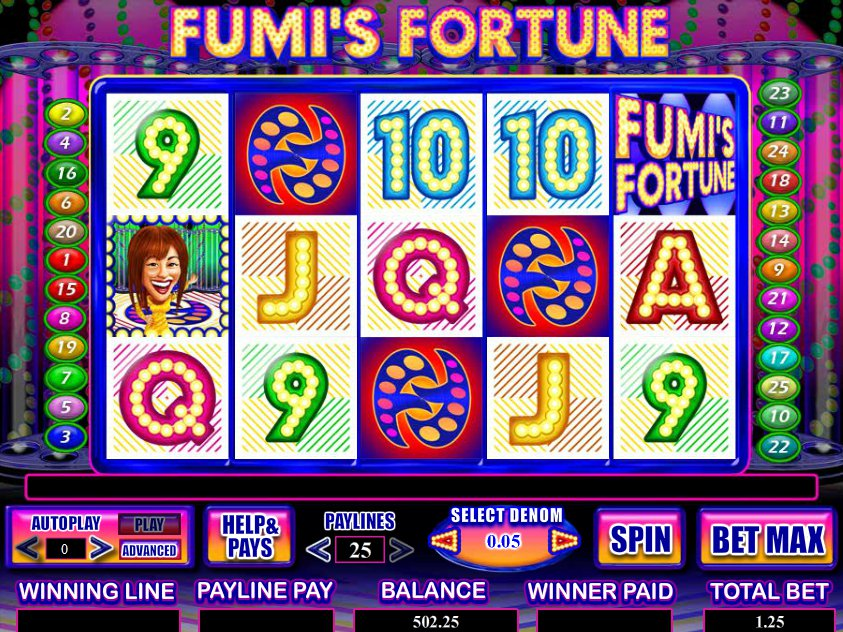 Online hrací automat Fumi´s Fortune