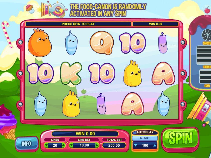 Herní online automat Glutters zdarma