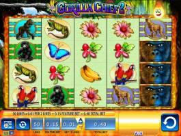 Casino hra Gorilla Chief 2 zdarma