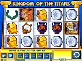 Automat Kingdom of the Titans bez registrace zdarma