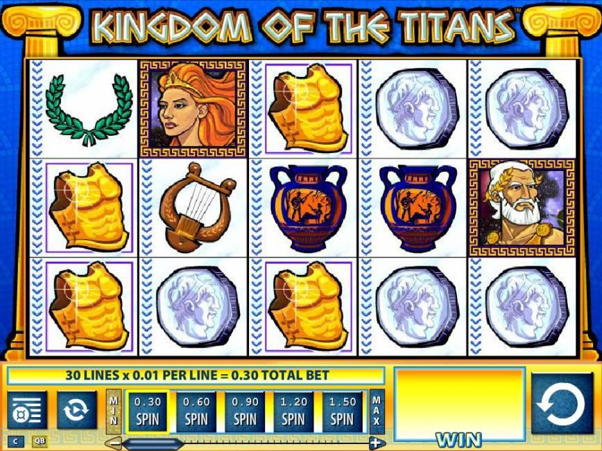 Automat Kingdom of the Titans bez registrace zdarma
