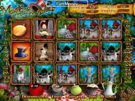 Výherní online automat Magic and Wonders