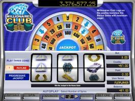 Zdarma online automat Millionaires Club I bez registrace