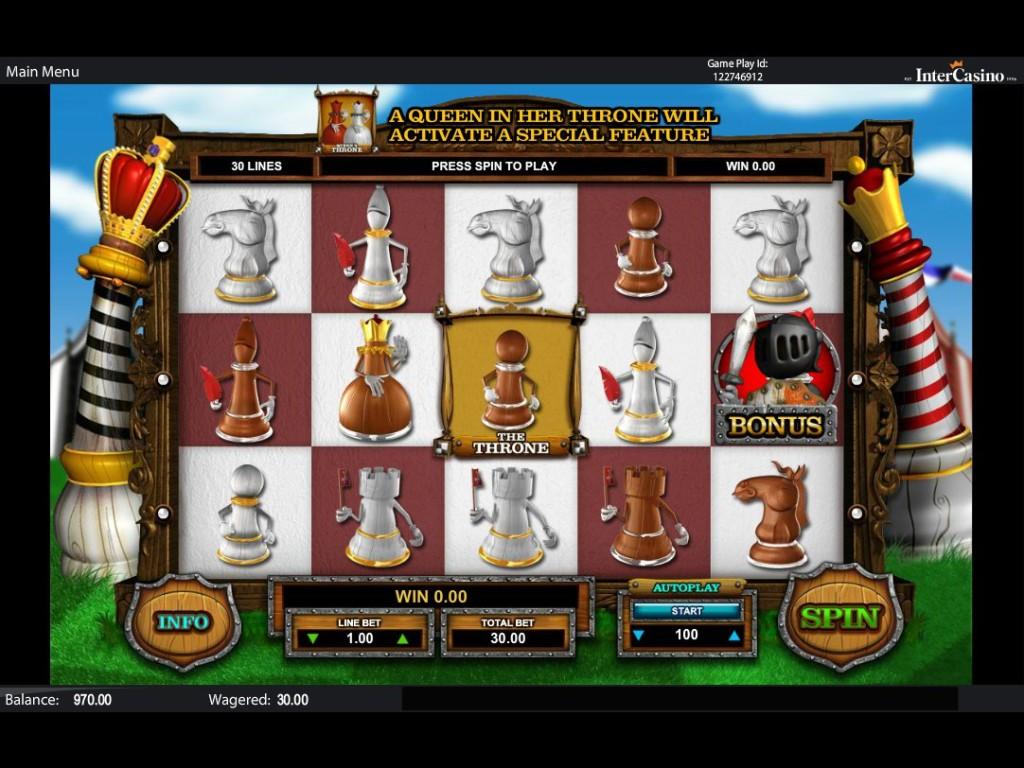 Zdarma casino automat Queen of Thrones