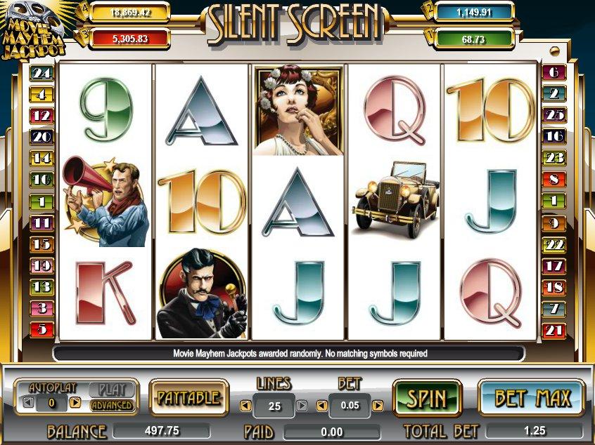 Casino hra Silent Screen online zdarma