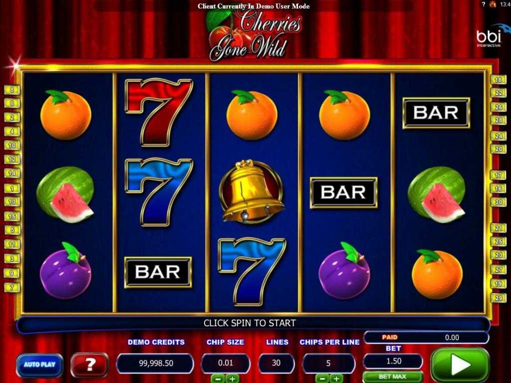Cherries Gone Wild hrací casino automat zdarma