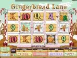 Obrázek automat Gingebread Lane online bez registrace