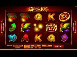 Casino automat zdarma Gong Pow