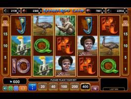 Automat bez omezení Kangaroo Land online