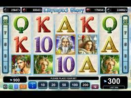 Herní automat Olympus Glory bez omezení