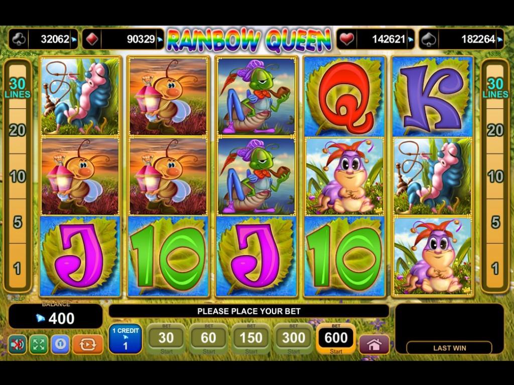 Výherní automat Rainbow Queen bez registrace