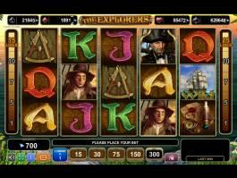 Casino automat The Explorers online