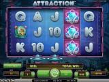 Herni online automat zdarma Attraction