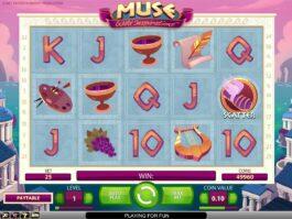Herní casino automat Muse zdarma online