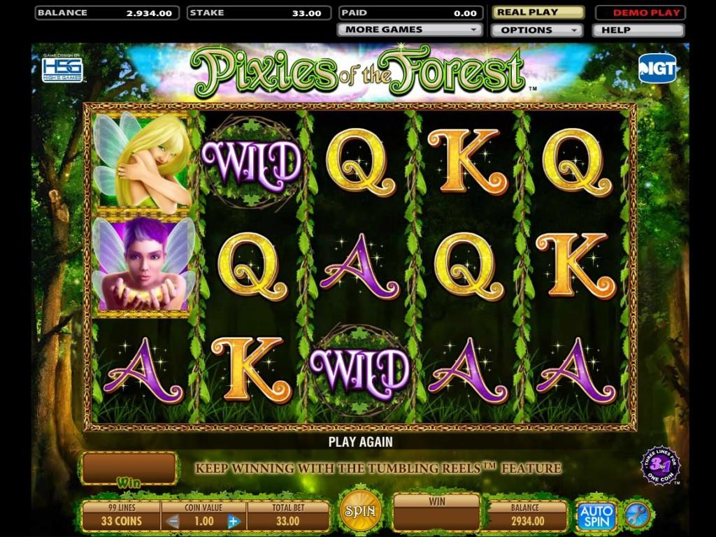 Herní online automat Pixies of the Forest zdarma
