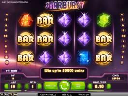 Herní casino automat zdarma Starburst