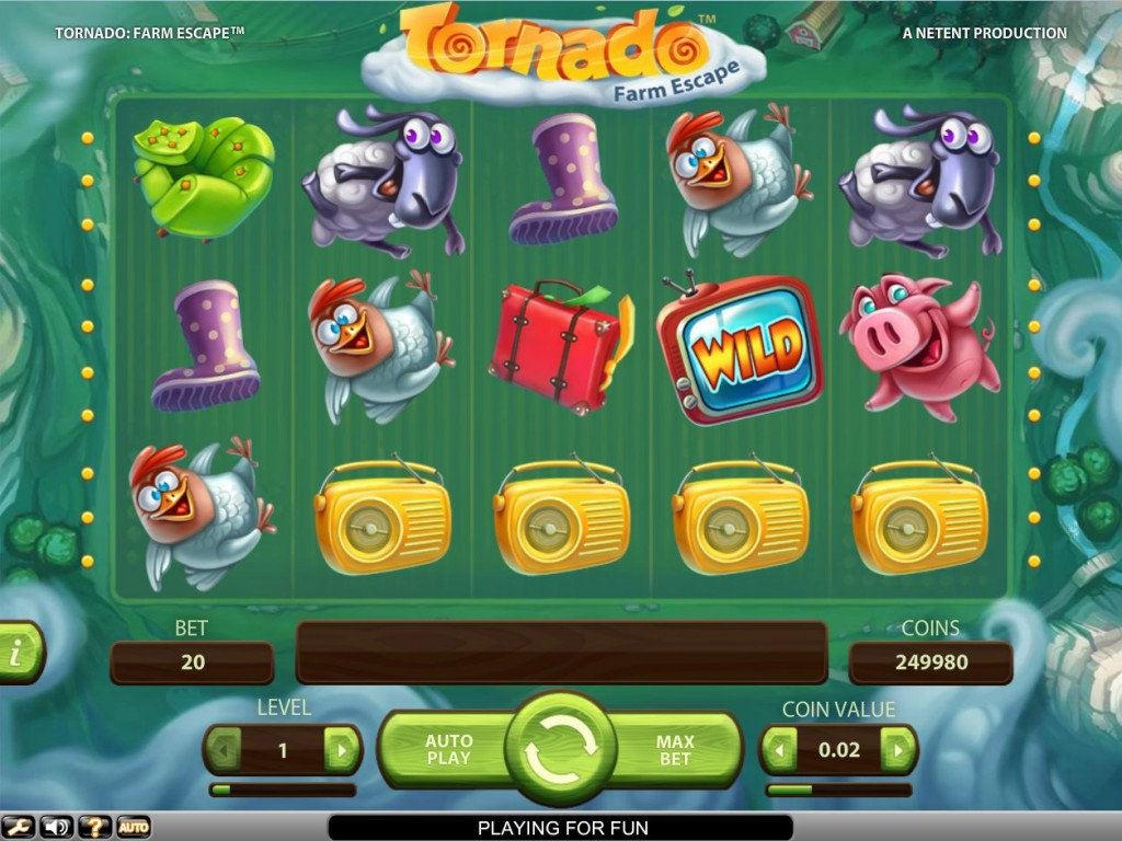 Casino automat bez registrace Tornado: Farm Escape