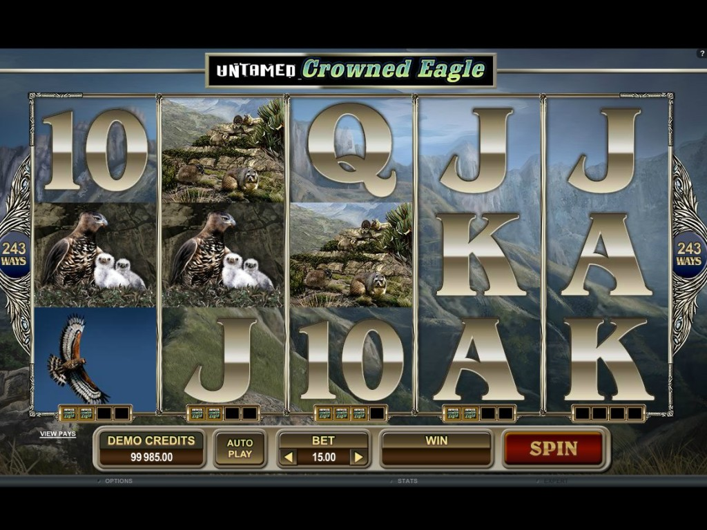 Casino online automat zdarma Untamed Crowned Eagle