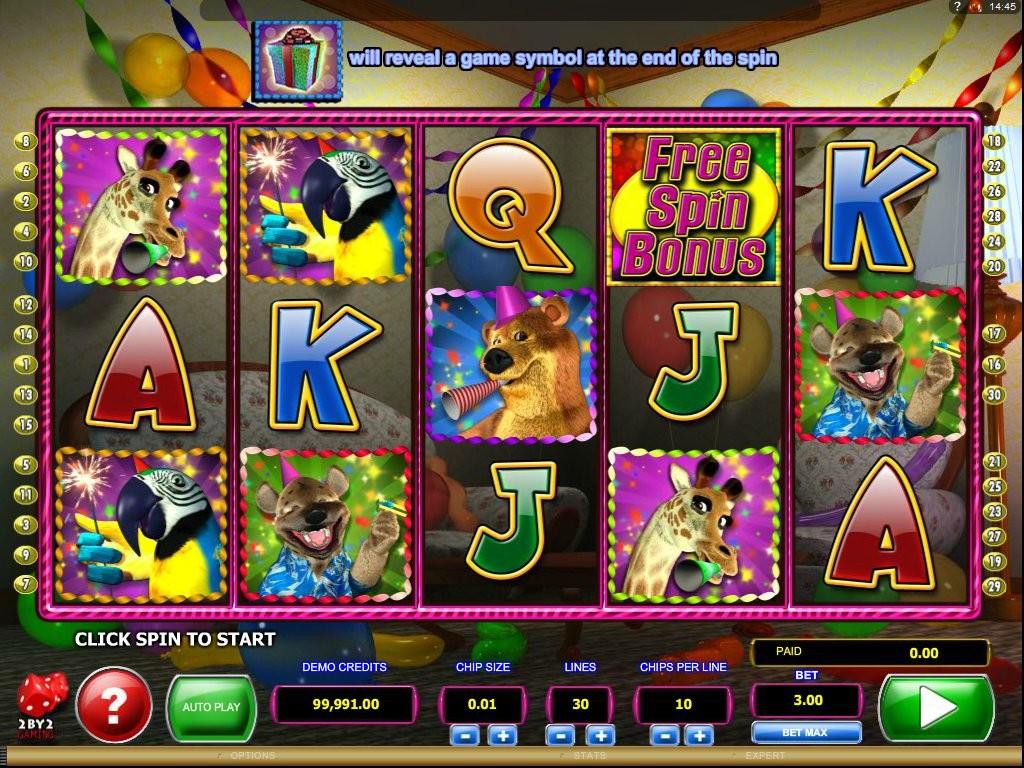 Herní automat zdarma Wild Birthday Blast
