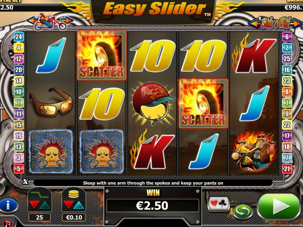 Casino online automat zdarma Easy Slider