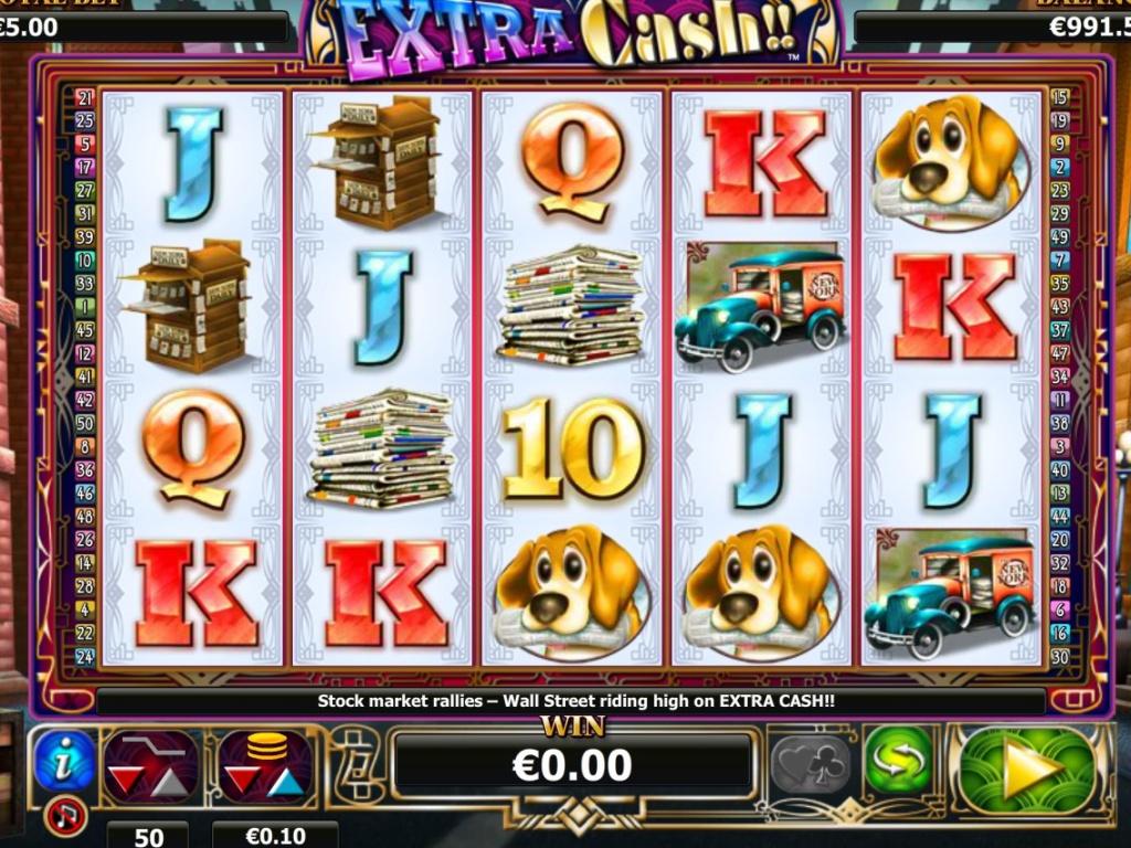 Online casino automat zdarma Extra Cash