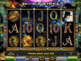 Online casino automat Book of Stars zdarma
