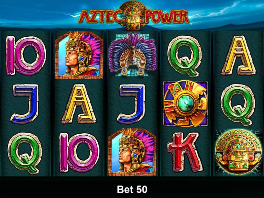 Výherní automat Aztec Power online zdarma