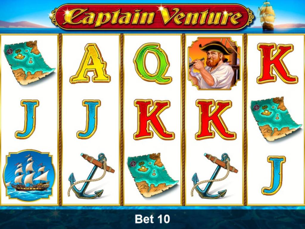 Online výherní automat Captain Venture zdarma