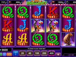 Zahrajte si casino hru Circus Brilliant zdarma, pro zábavu