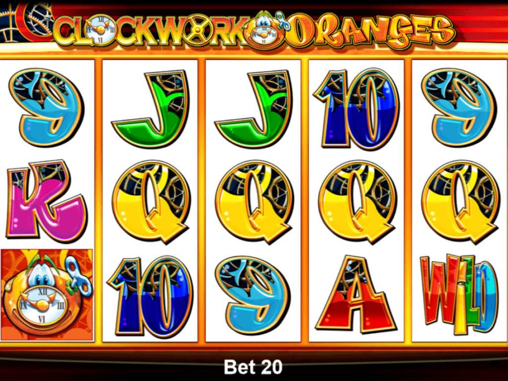 Výherní automat Clock Work Oranges online zdarma