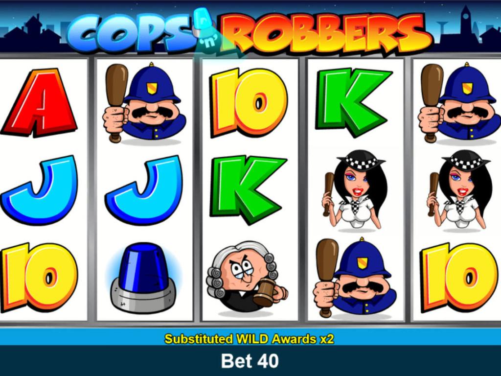 Automatová casino hra Cops'n Robbers online zdarma