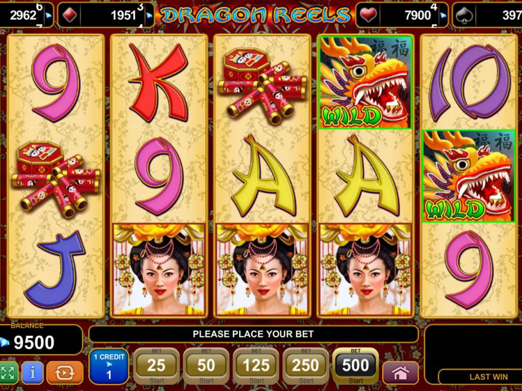 Zahrajte si casino hru Dragon Reels online