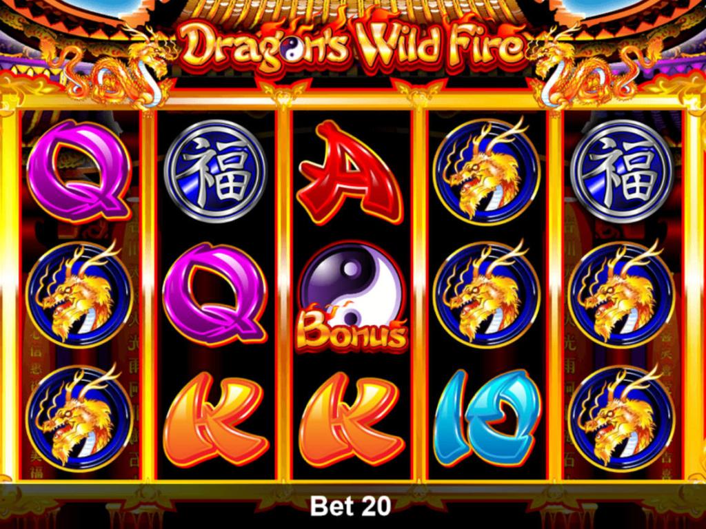 Online herní automat Dragon's Wild Fire zdarma, pro zábavu