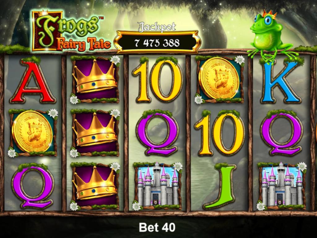 Casino hra Frogs Fairy Tale zdarma online