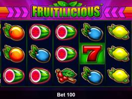 Casino hra Fruitilicious zdarma