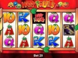 Online casino automat Happy Fruits